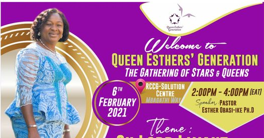 Queen Esther's Generation – Oh Lord I want to see your power