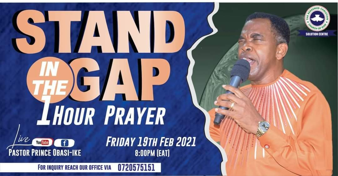 Stand in the gap prayers