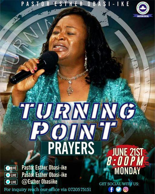 Evening sacrifice – turning point prayers