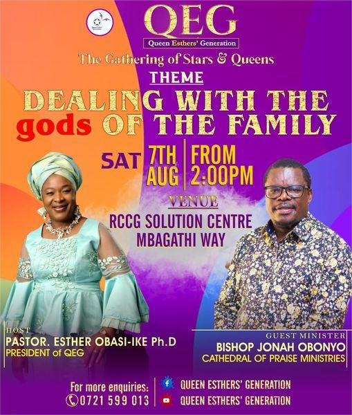 Queen Esther's Generation Meeting