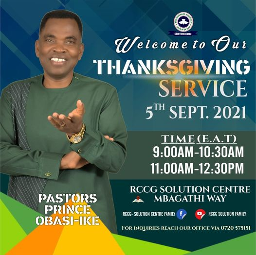Thanksgiving Sunday Service