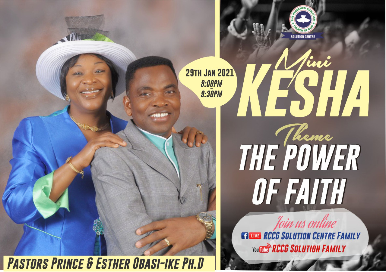 Solution Night (mini vigil – kesha) – The power of faith (the overcoming faith)