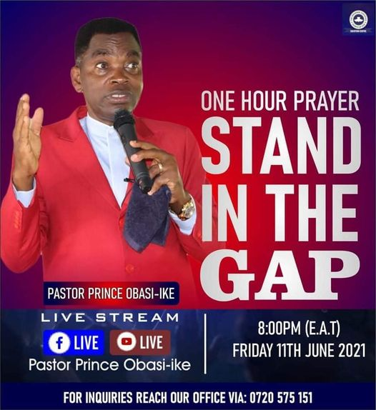 Stand in the Gap Prayer